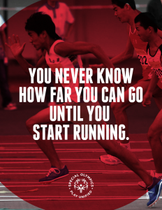 Never know how far till you start running